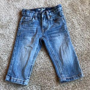 Cat & jack straight jeans size 12 months